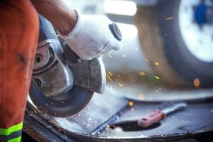 riesgo mecanico con herramientas
