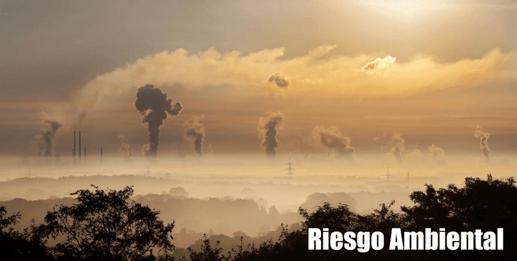 que es riesgo ambiental