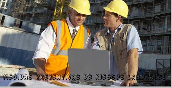 medidas de prevención de riesgos laboral